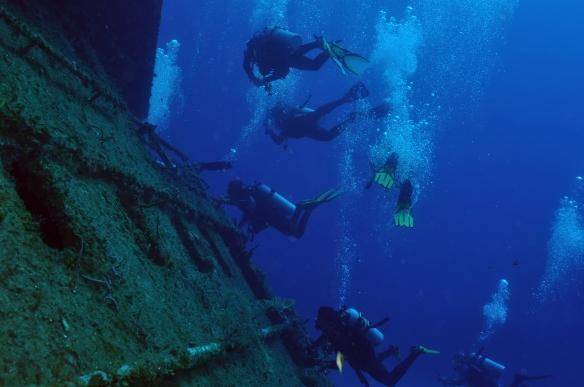 aqualongos naufragio